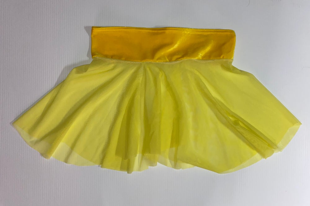 Yummy Yellow Skater Skirt