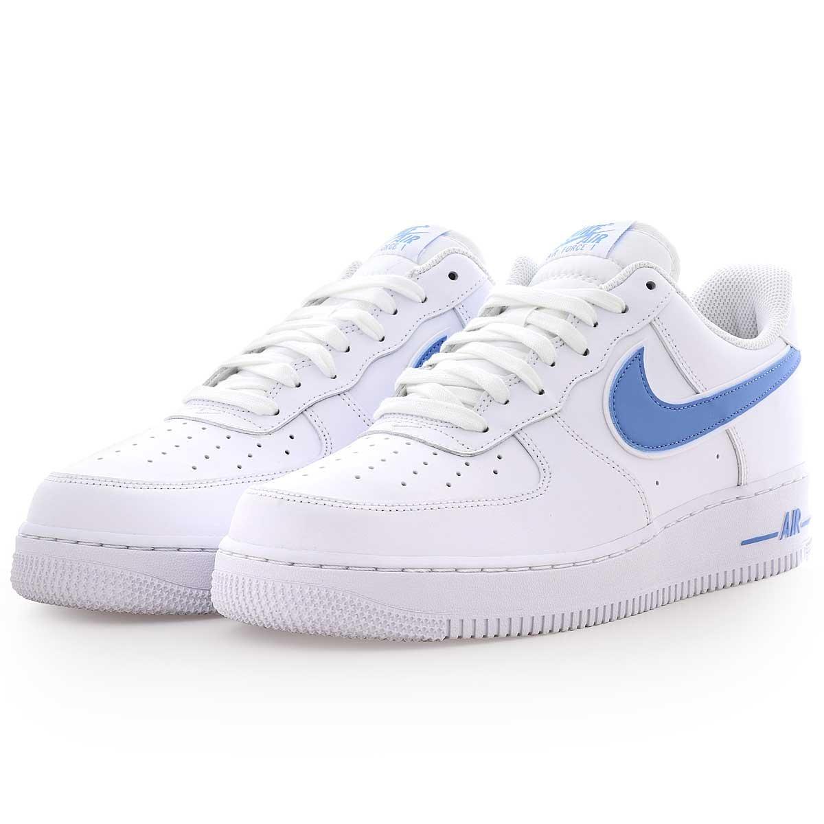 Custom coloured Nike tick airforce 1s