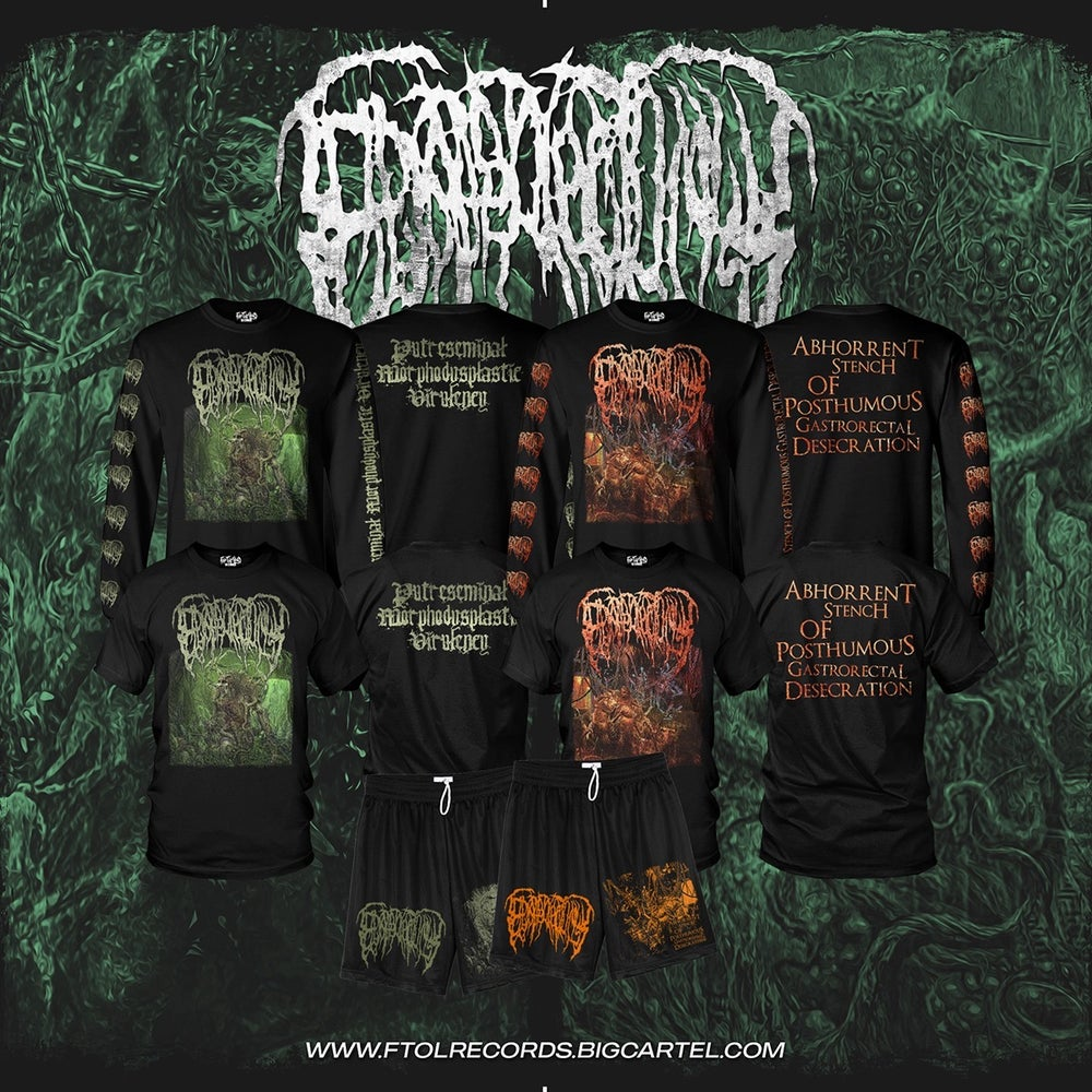 Image of *PREORDER* Epicardiectomy Revamped Album Cover Short and Long Sleeve Shirts!