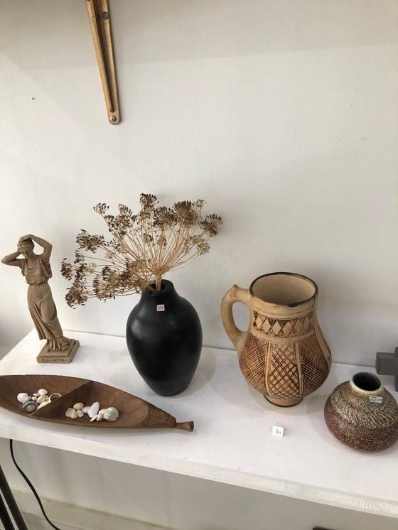Image of Vase bois noir