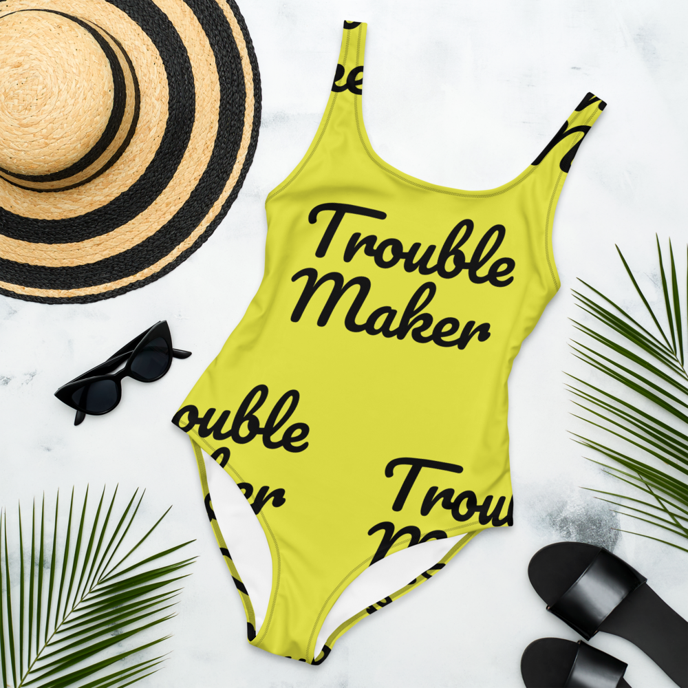 Trouble Maker - One-Piece Swimsuit