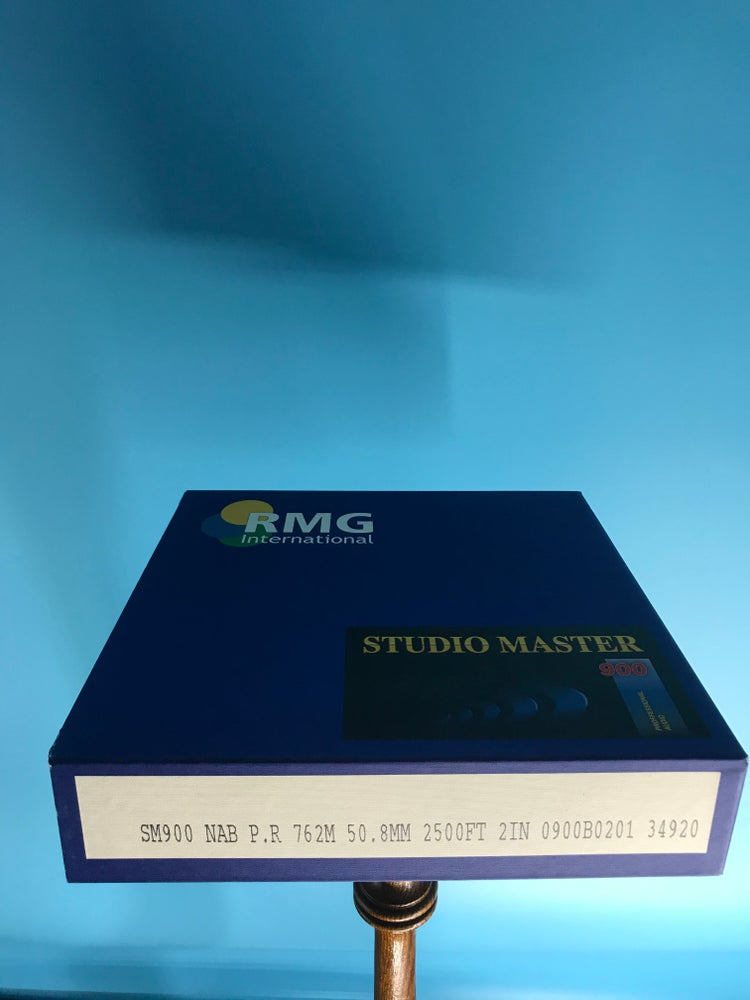 "Image of RMG 900 Studio Master 10.5"" x 2"" RTM BASF EMTEC MULANN PYRAL Official Box New"