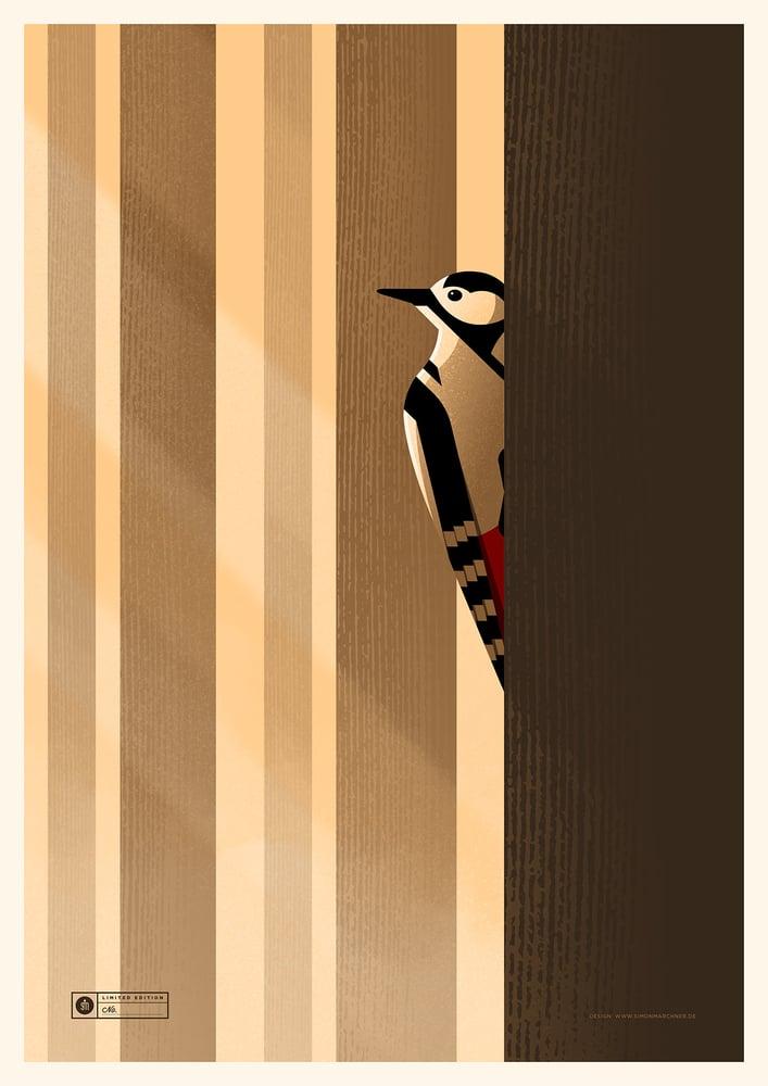 Image of Woodpecker Artprint