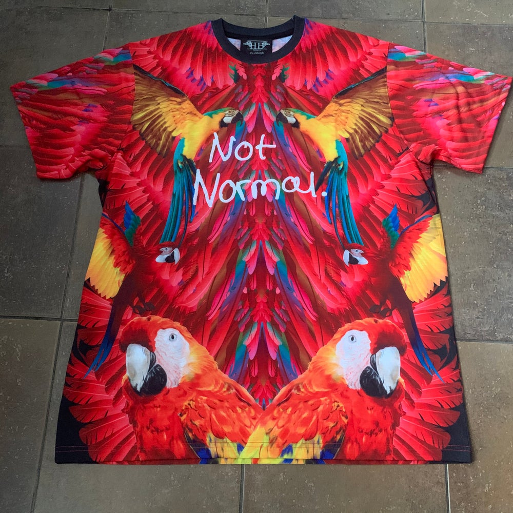 Image of Not Normal Macaws tee