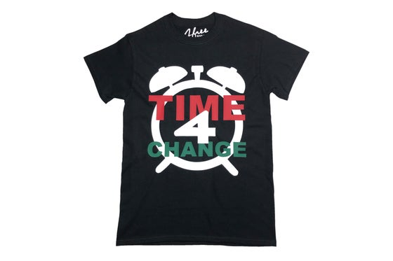 Image of TIME 4 CHANGE T-shirt Black