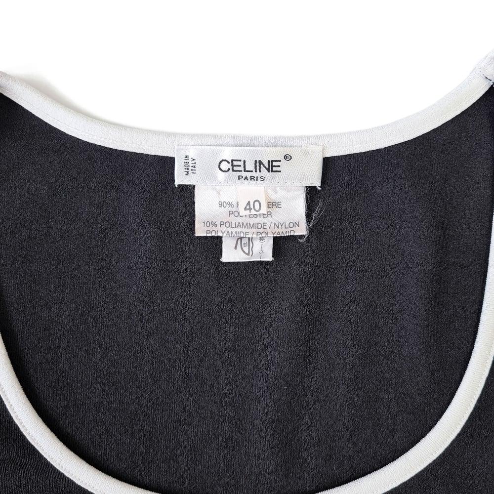 Image of Celine Logo Tank Top