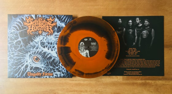 Image of Sentient Horror • Ungodly Forms (Neon Orange | Black Vinyl)
