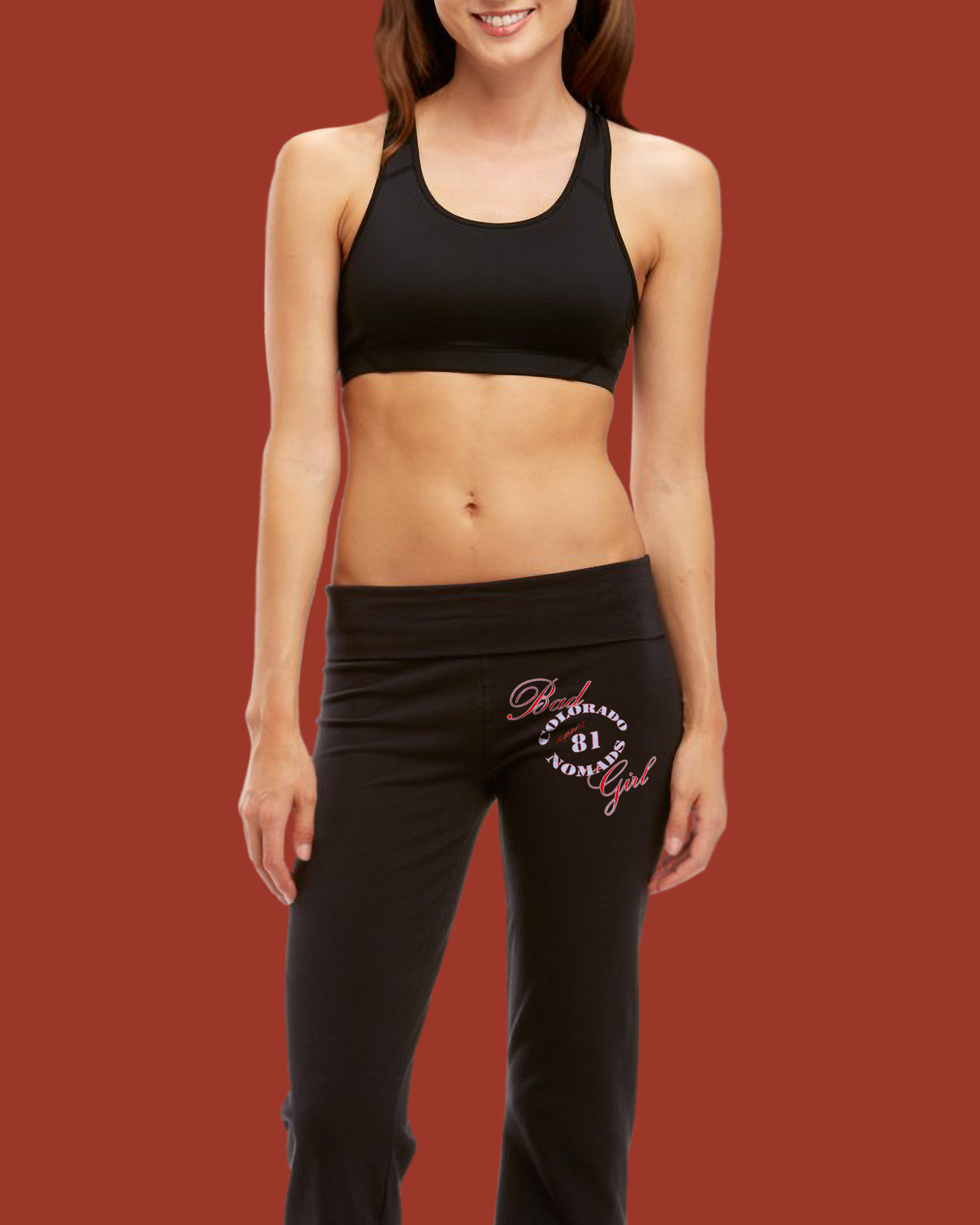 Hells Angels Support 81 Yoga Pants