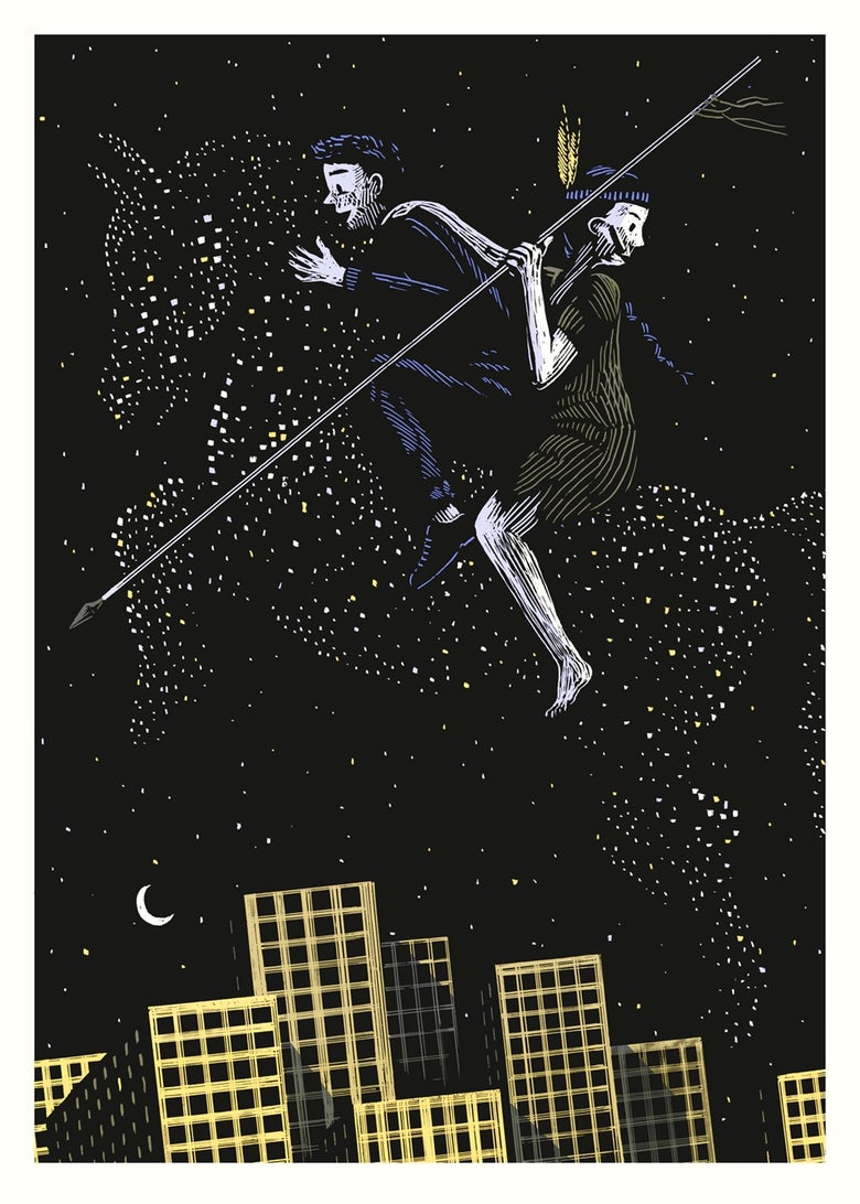 Image of »Nightriders« Artprint