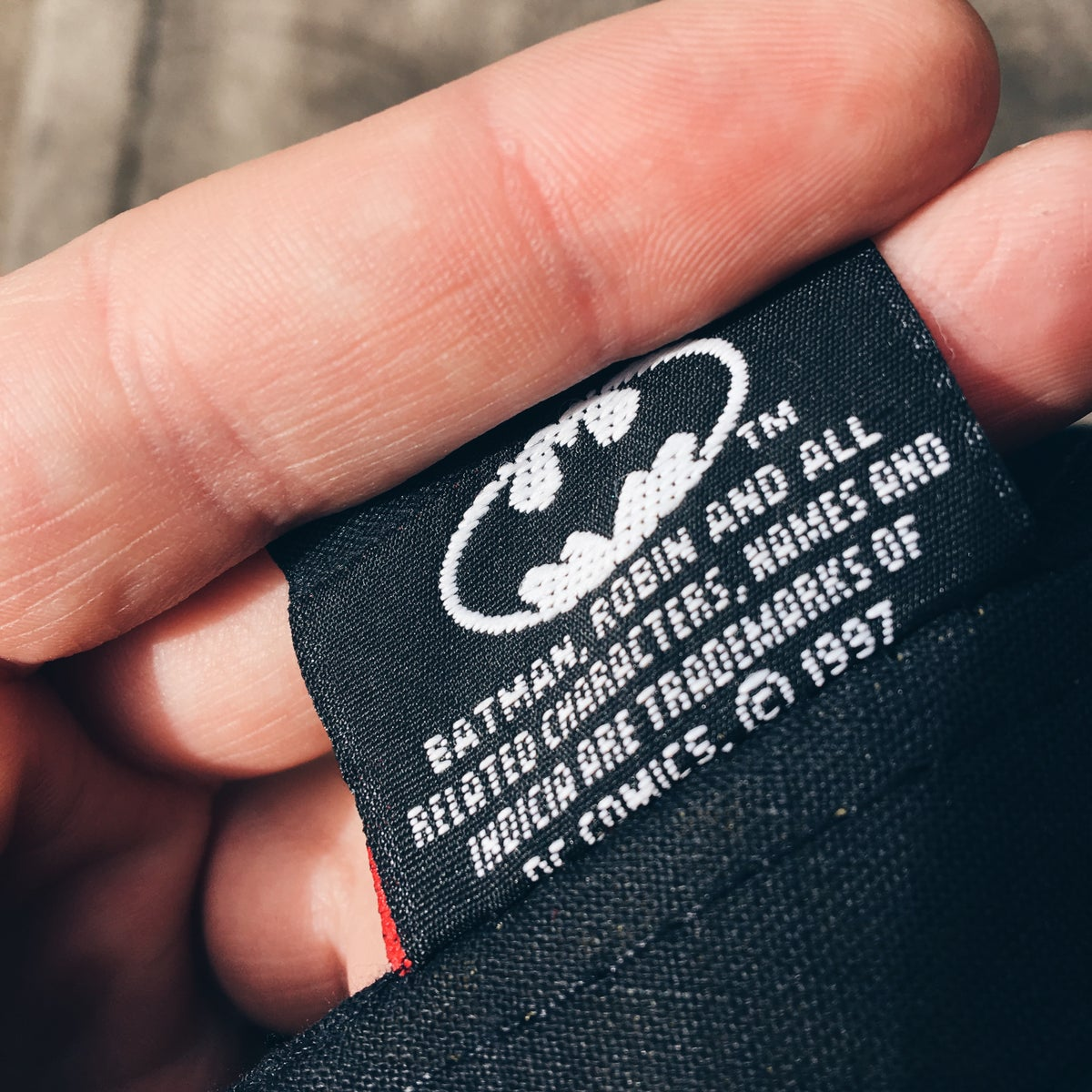 Image of Original 1997 Mr. Freeze Batman Snapback Hat.