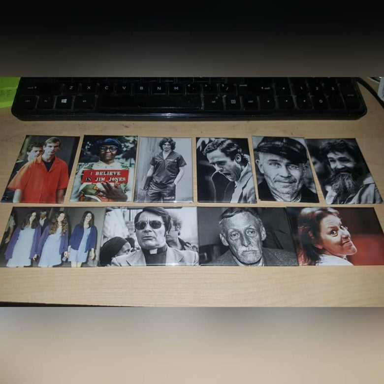 Image of CULT LEADER FRIDGE MAGNET SET OF 10 (IN STOCK)