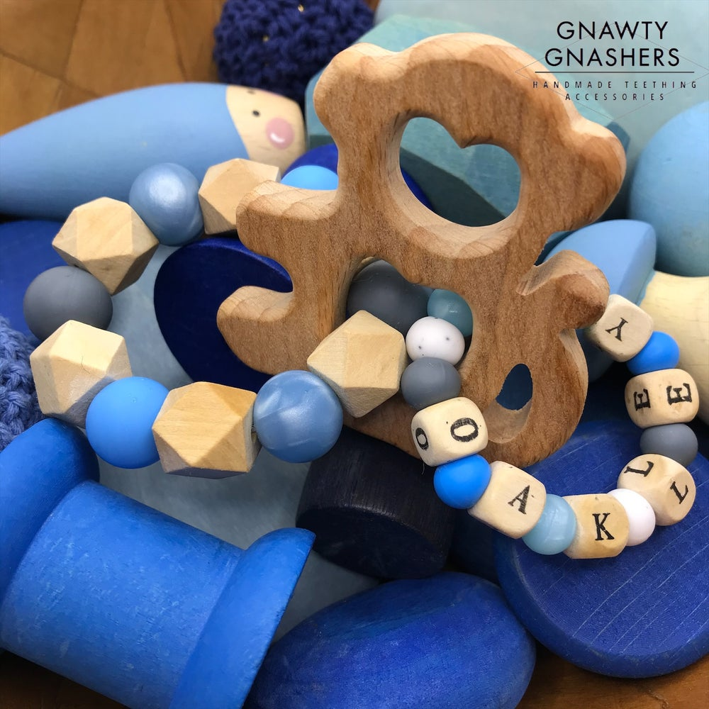 Image of Mini Double Teether Ring
