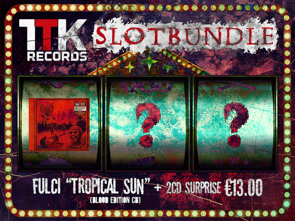Image of SLOT-BUNDLE // JACKPOT 1: FULCI (CD) + 2 CD Jolly Surprise