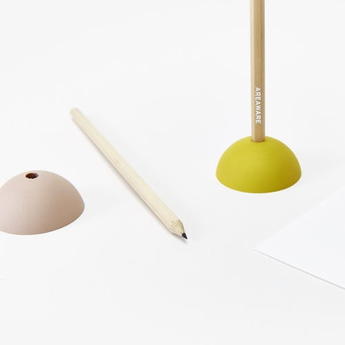 Image of Eraser Pencil Stand - Pink Dome
