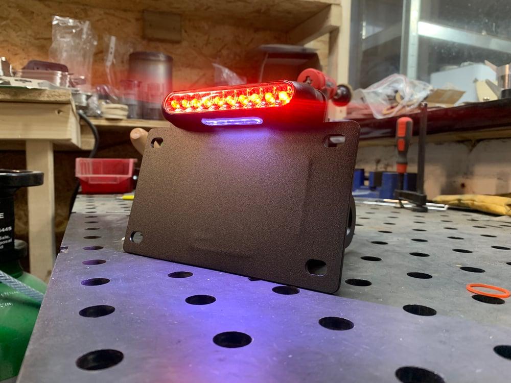 Harley Sportster side mount - LED stop/tail