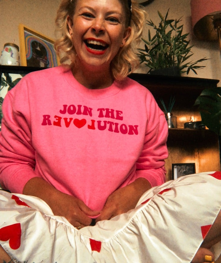 Image of Join the revolution... the love revolution
