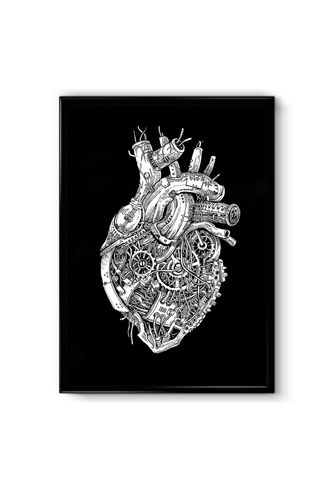 "Image of ""Machine Heart"" - SIGNED PRINT"