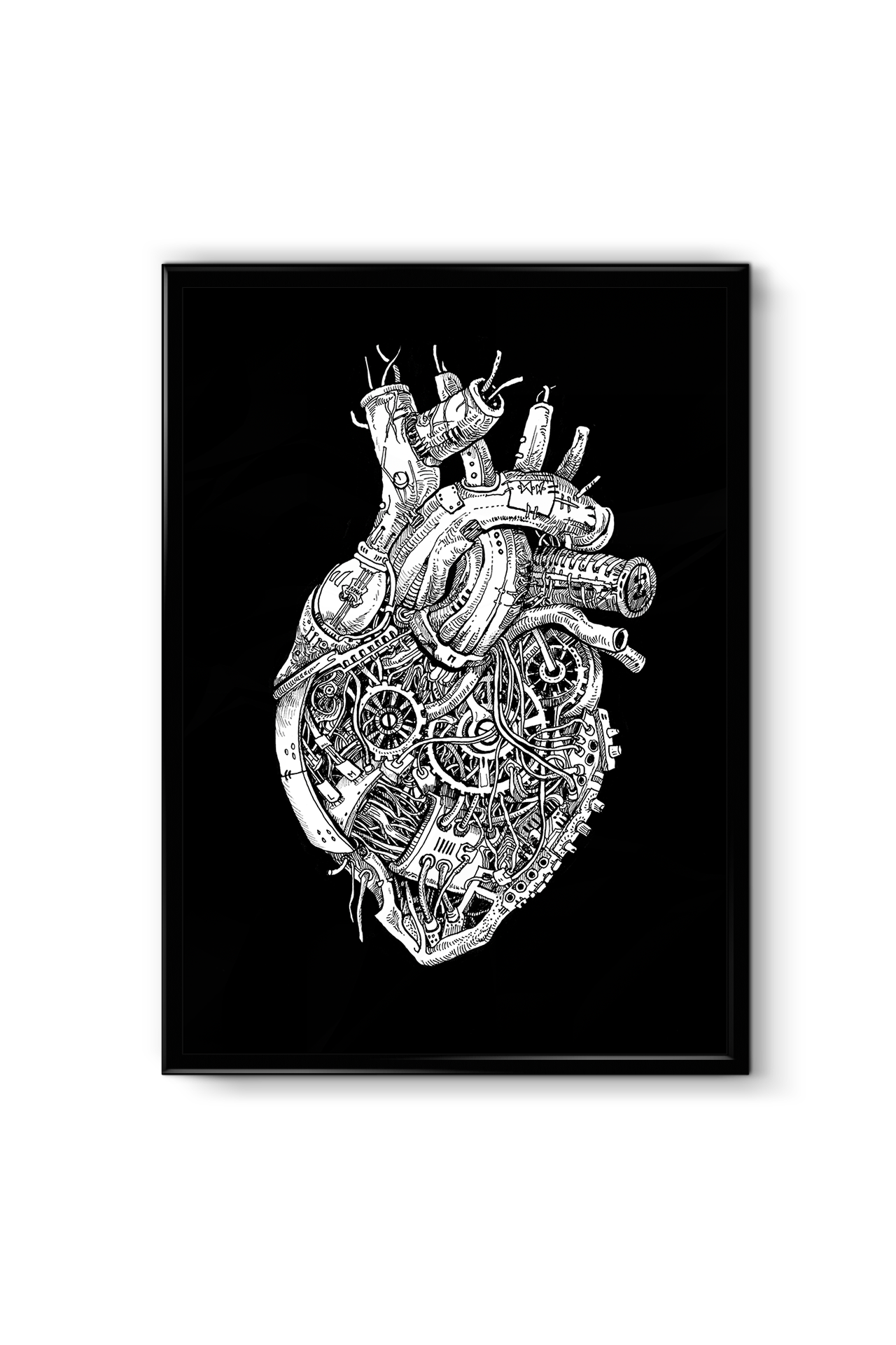 """Image of """"Machine Heart"""" - SIGNED PRINT"""