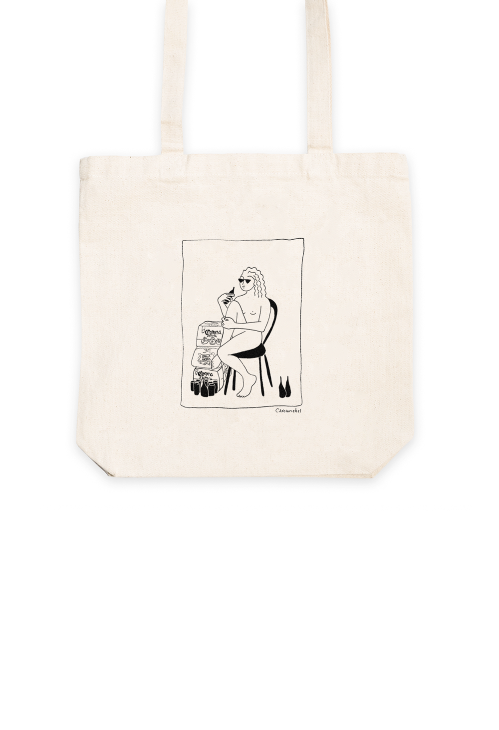 Image of Corona Tote Bag