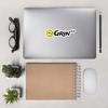 Grin++ Banner Logo Sticker