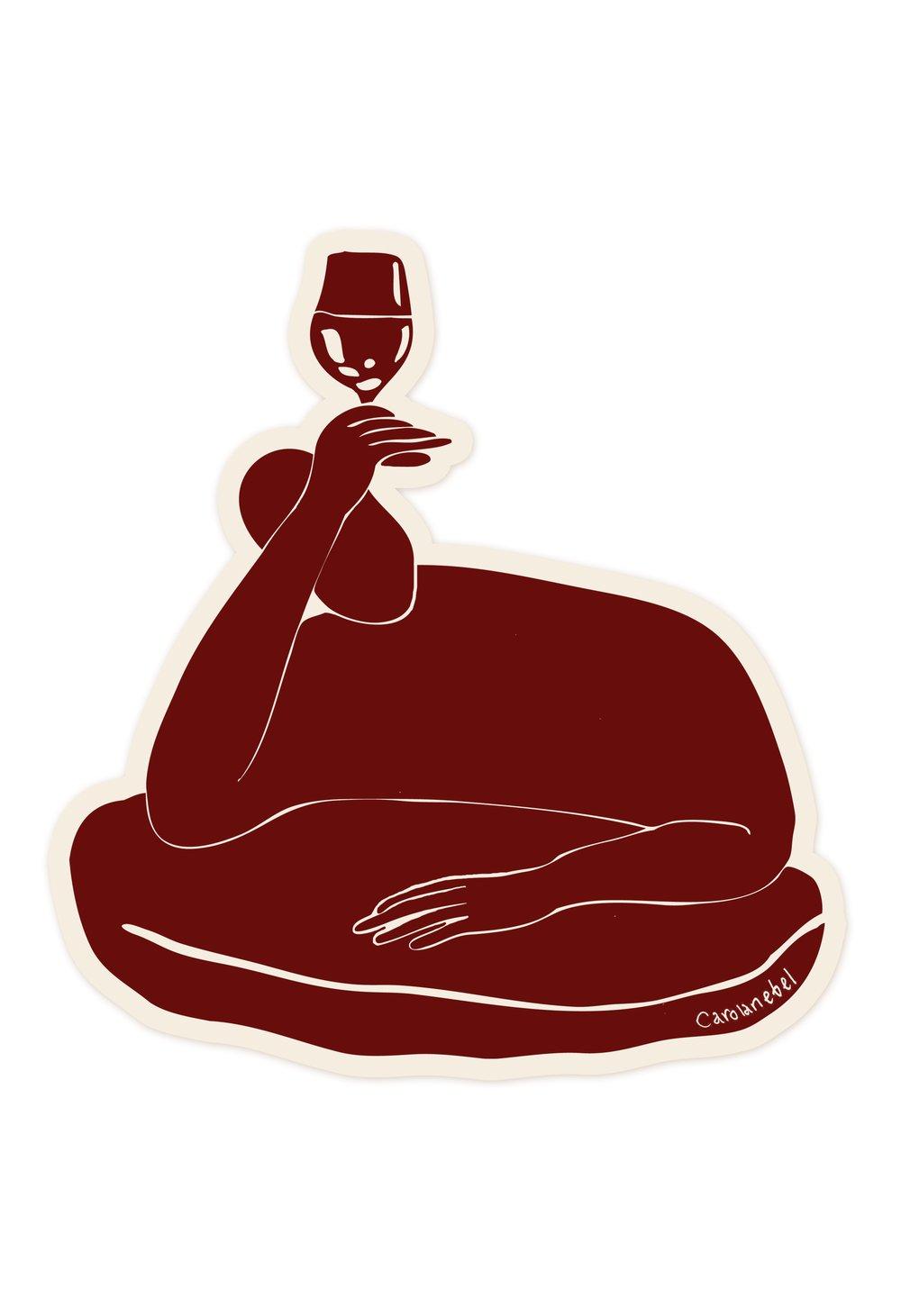 Image of Grand cru sticker