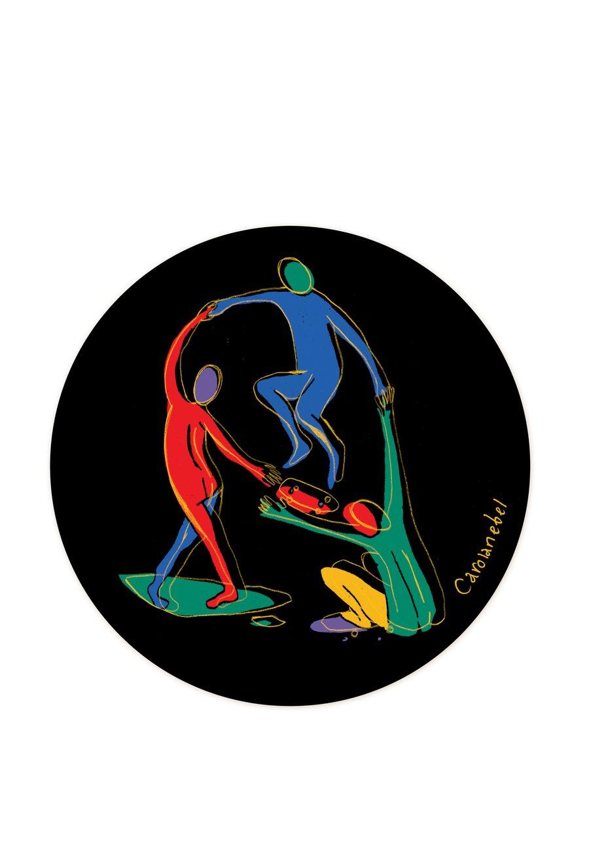 Image of Les danseurs sticker