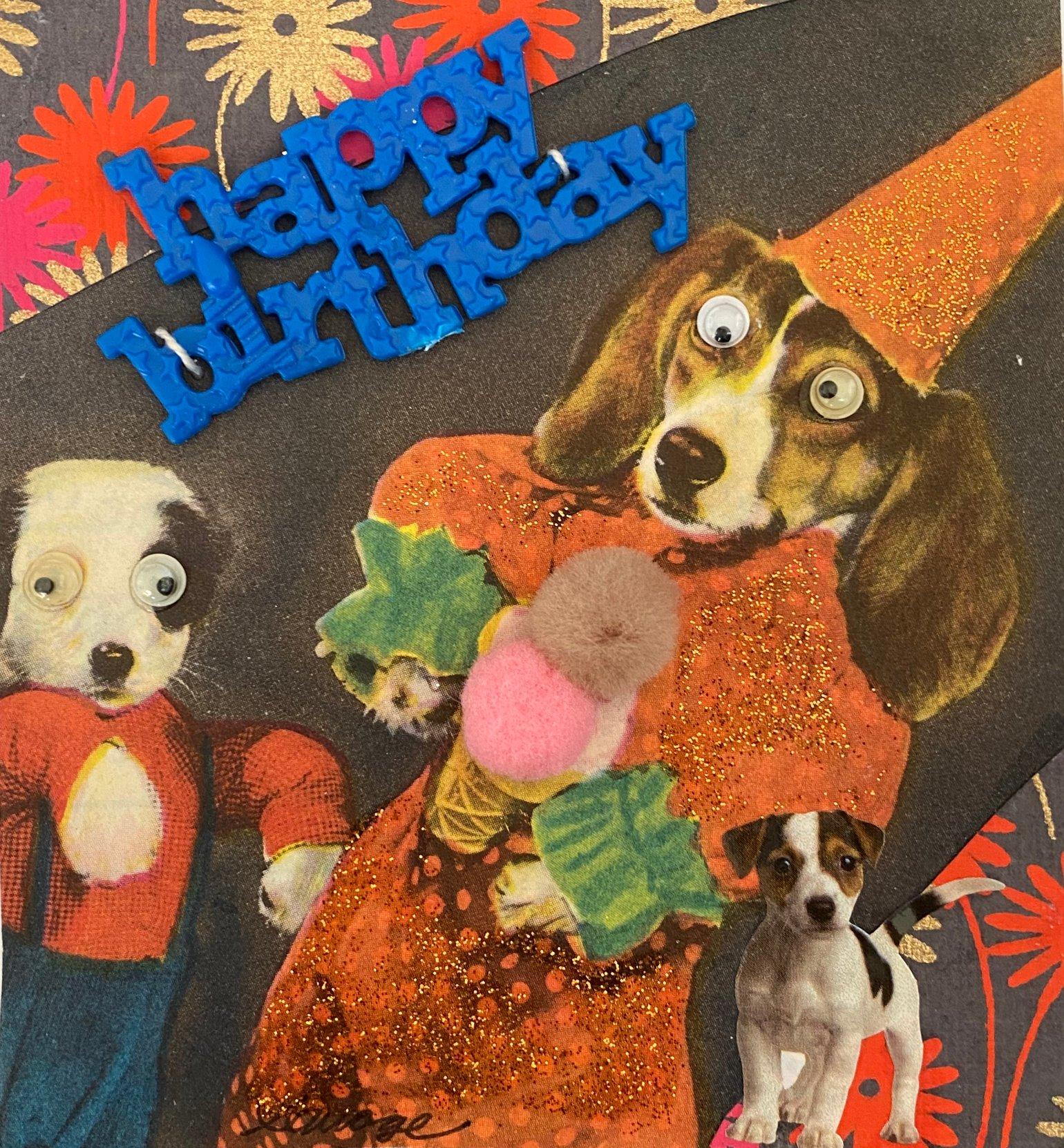Image of Wizard dog birthday