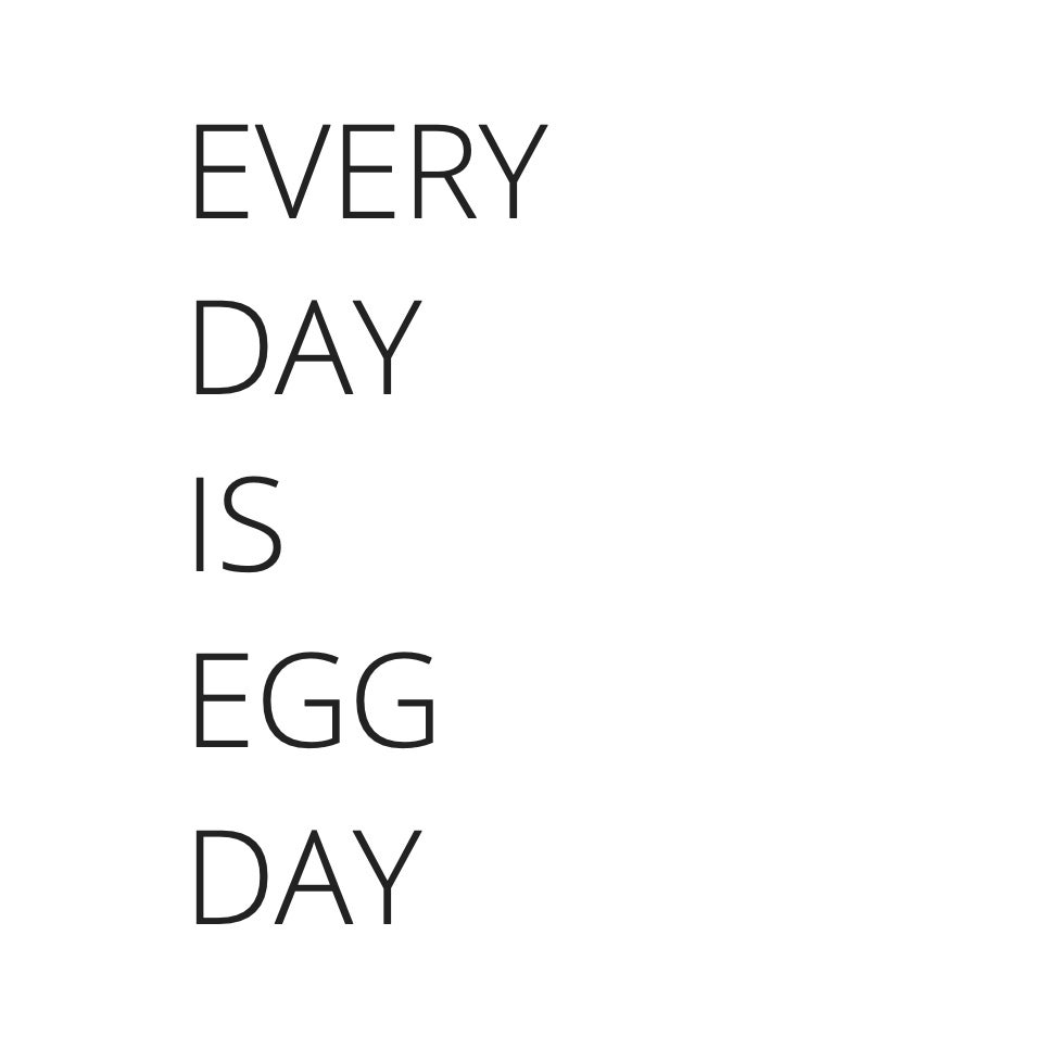 Image of Every Day is Egg Day (digital pdf)