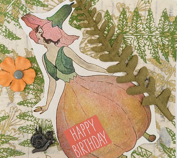 Image of Pumpkin girl birthday