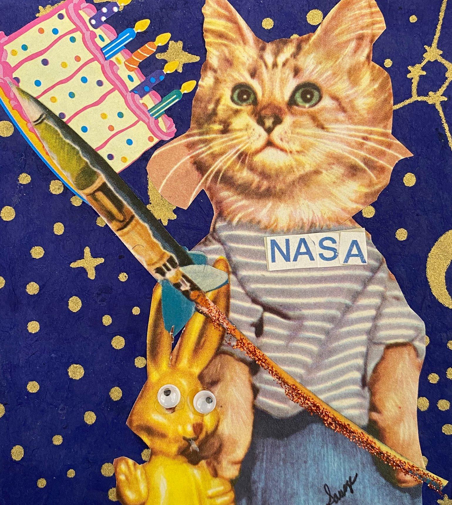 Image of NASA birthday
