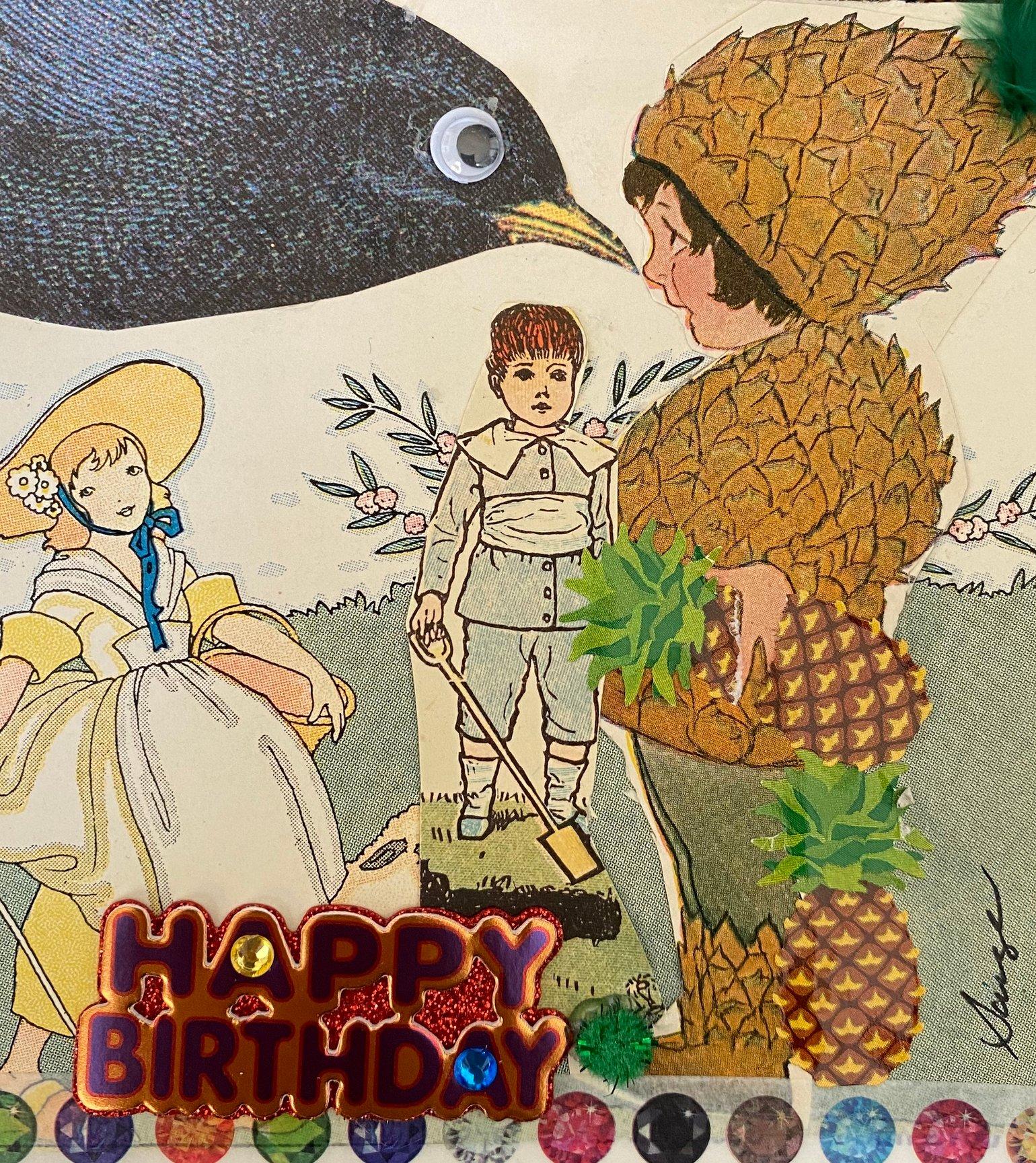Image of Pineapple birthday
