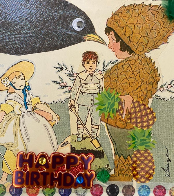 Image of Pineapple birthday