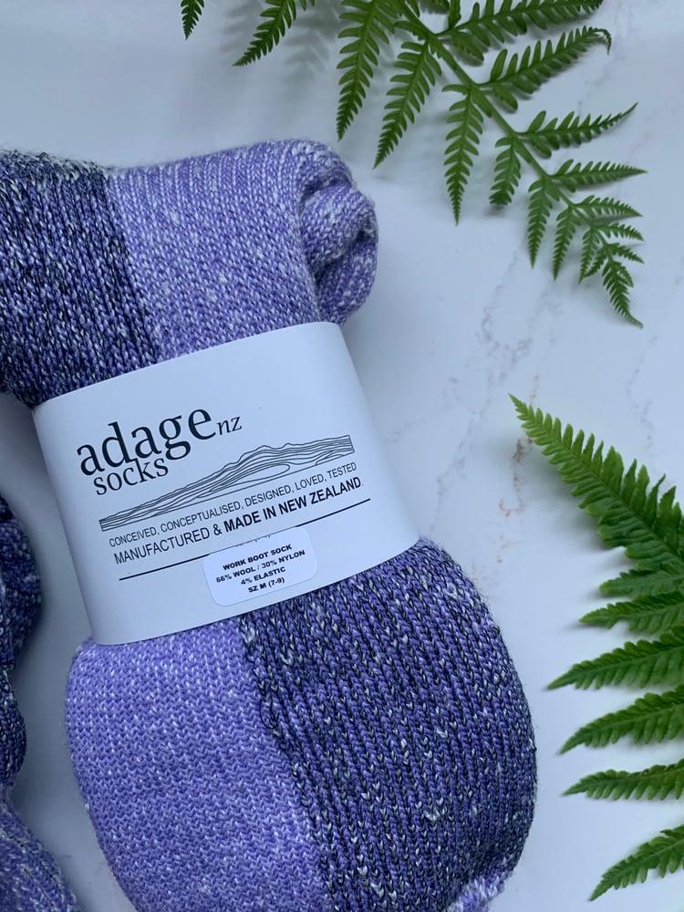Image of Cushy Work Socks - New Colours! - 3pr