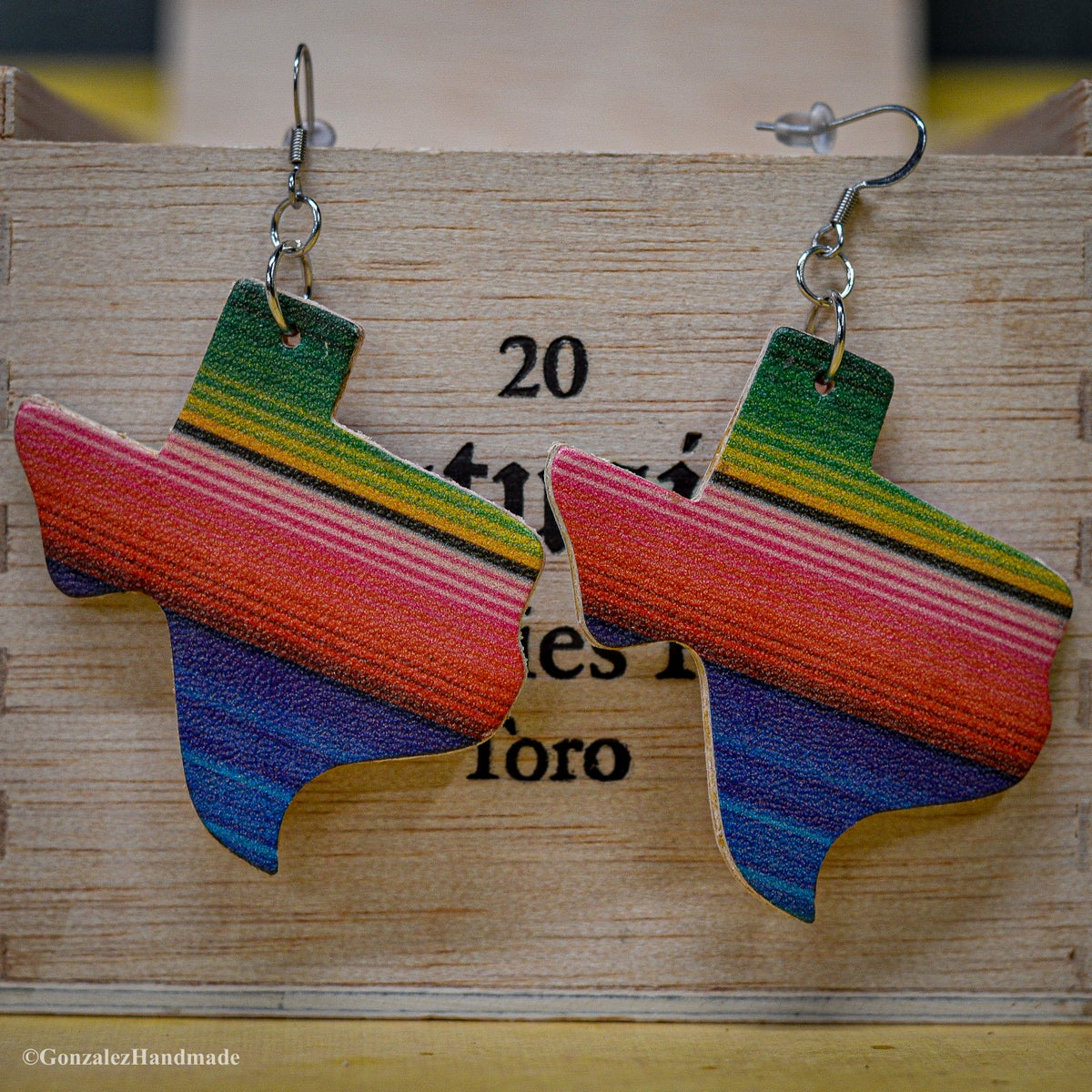 Image of Texas Serape Earrings
