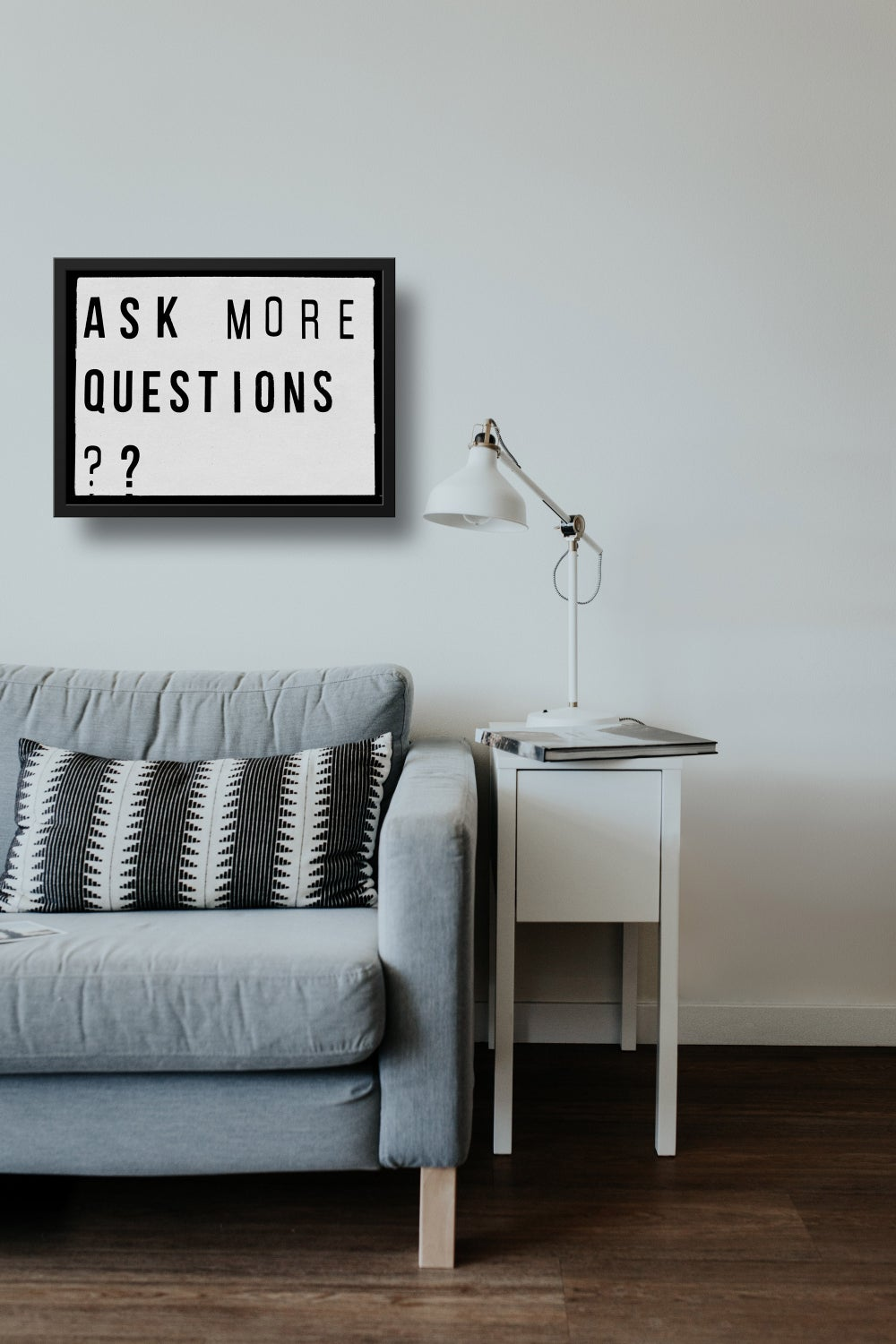 Ask More Questions?? Lightbox Quote