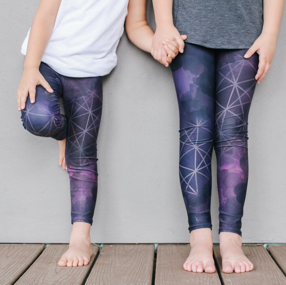 Image of Girl's Cohesion Yoga Pants