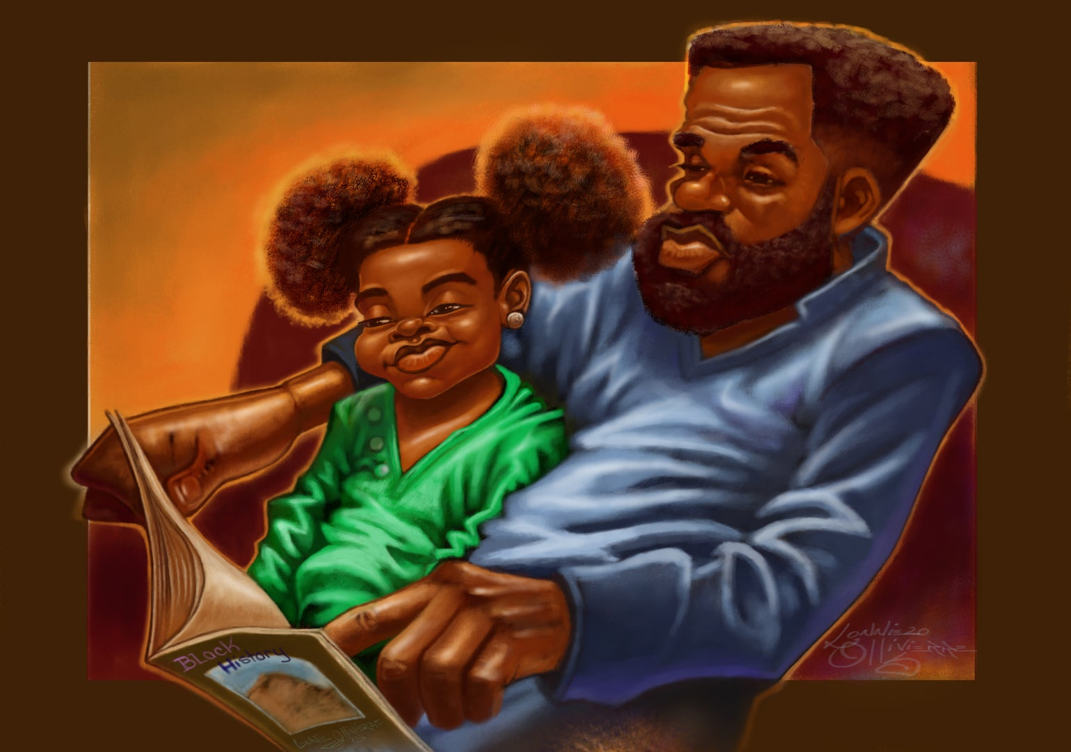 """Image of """"DAD READ TO ME"""""""