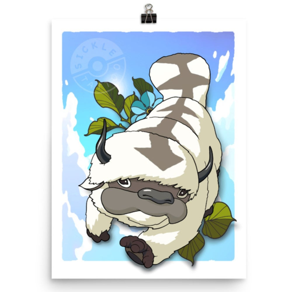 Image of Appa 12x16 Print