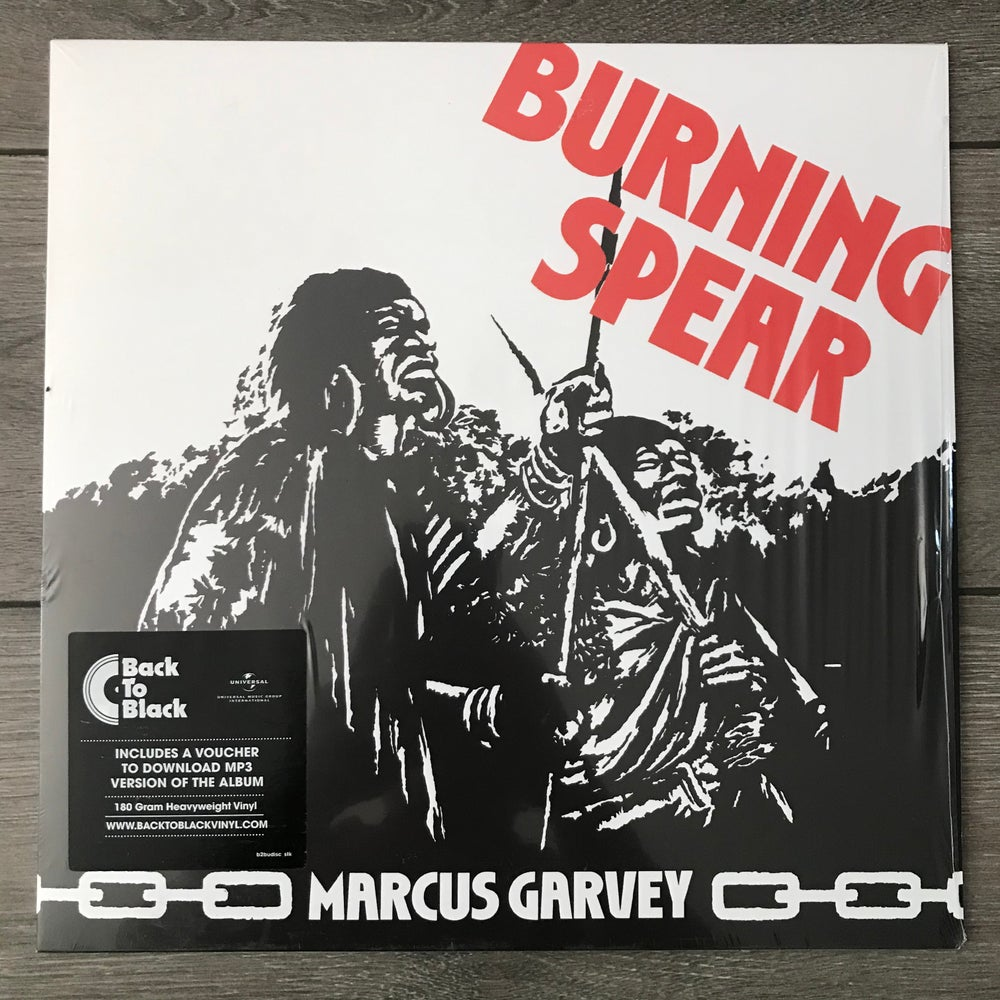 Image of Burning Spear - Marcus Garvey Vinyl LP