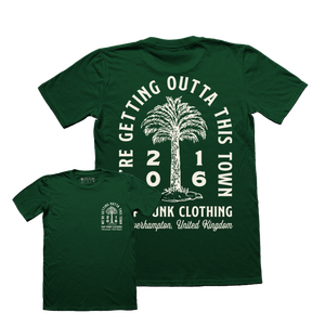 Image of Palm Pride T-shirt Forest Green