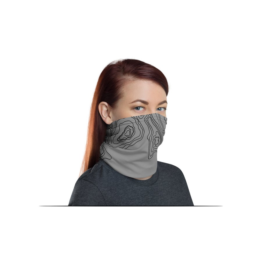 Image of Neck Gaiter Face Masks: Tamography™ Special Edition Colors