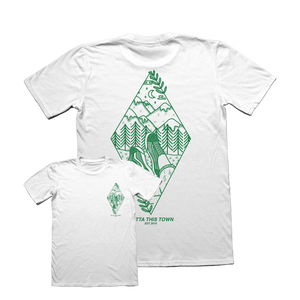 Image of Where I Need To Be T-shirt White ⛰️