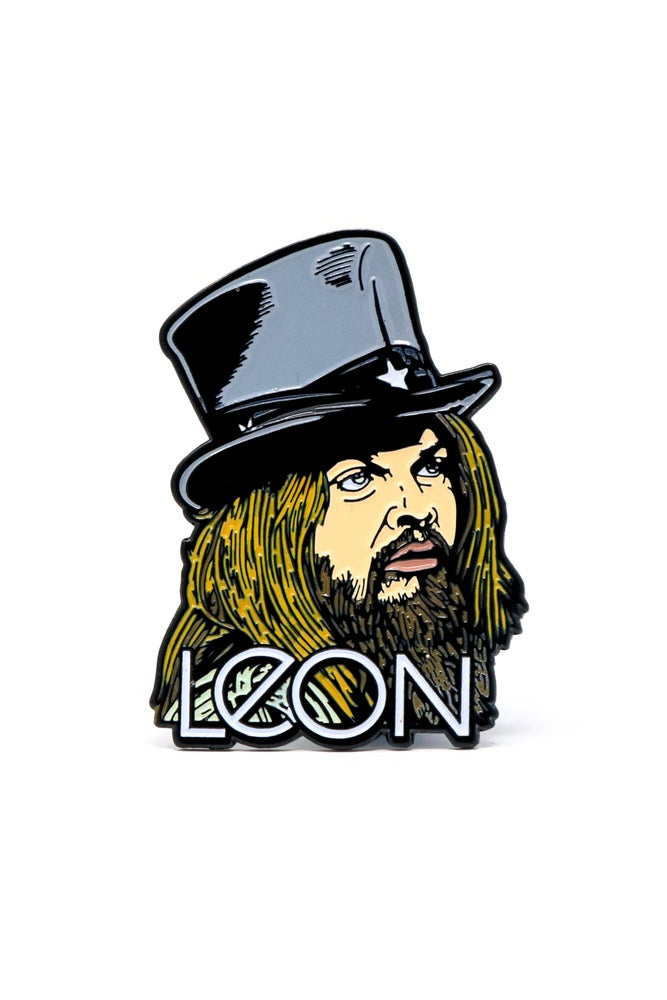 Image of Leon Russell Enamel Pin