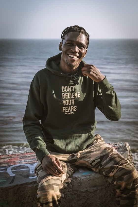 Image of Forest Green DBYF Hoodie