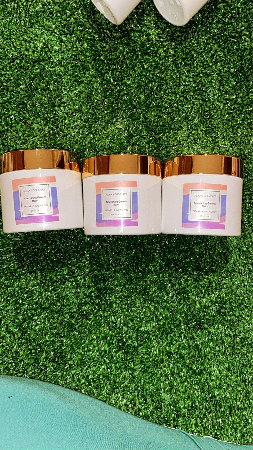 Alaia's Organics Hair Star Shampoo, Conditioner, Nourishing Hair Oil & Growth Balm