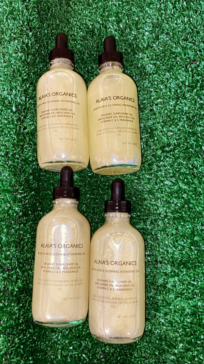 Mango Madness Glow Body Oil