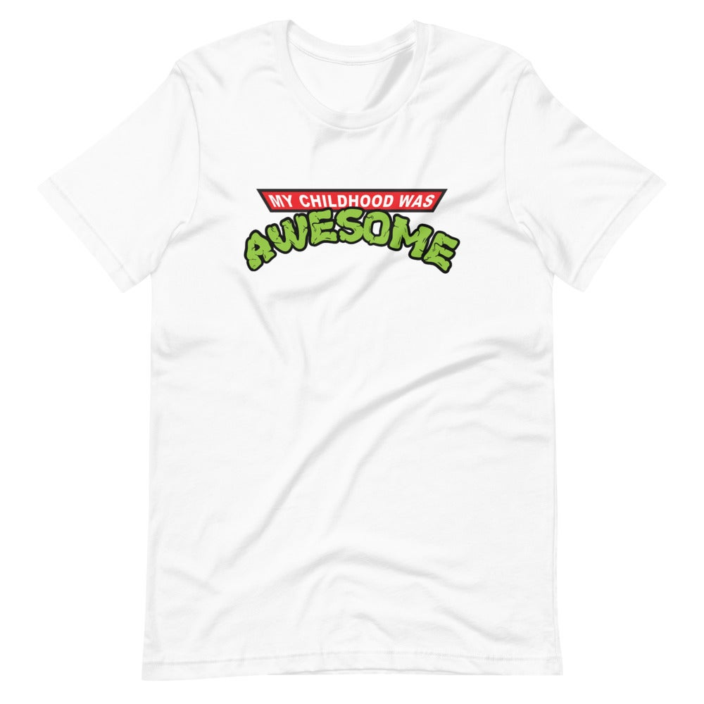 Image of My Childhood Was Awesome Tee - unisex