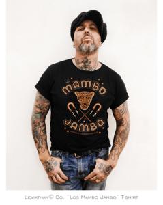 Image of Camiseta Los Mambo Jambo - Sonido Jambofónico - Negra - Chico