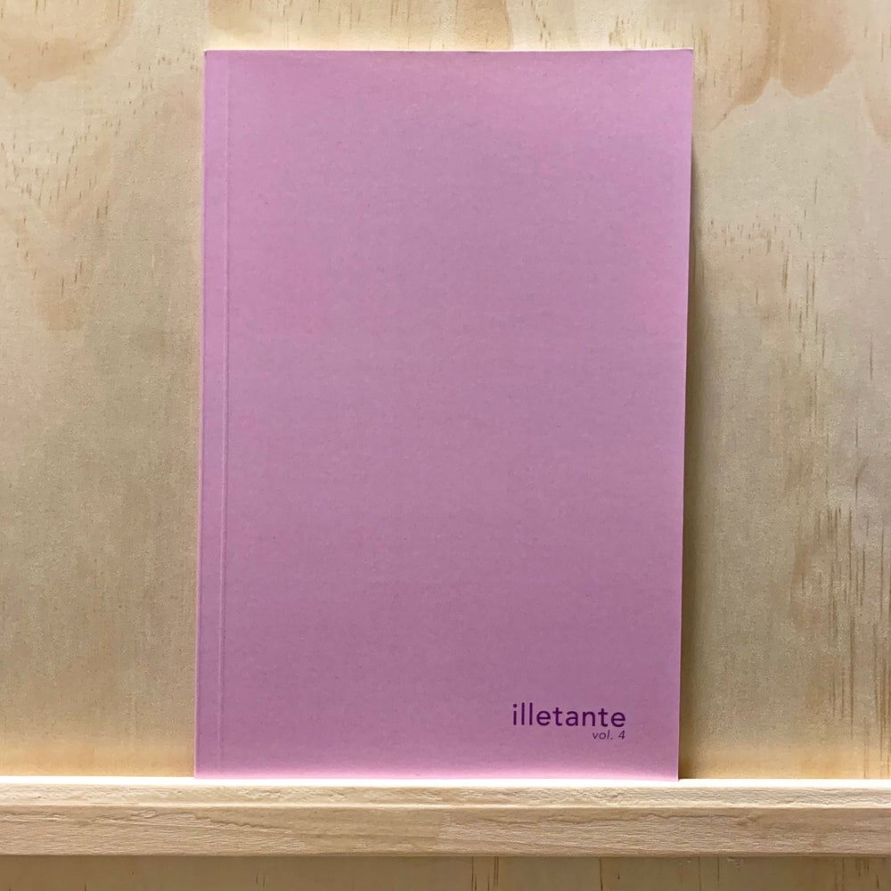 Image of illetante Vol. 4