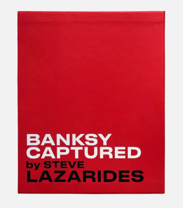 """Image of BANKSY CAPTURED """"RED VIP HARDBACK EDITION"""" - LIMITED TO 500 - BRAND NEW UNOPENED"""